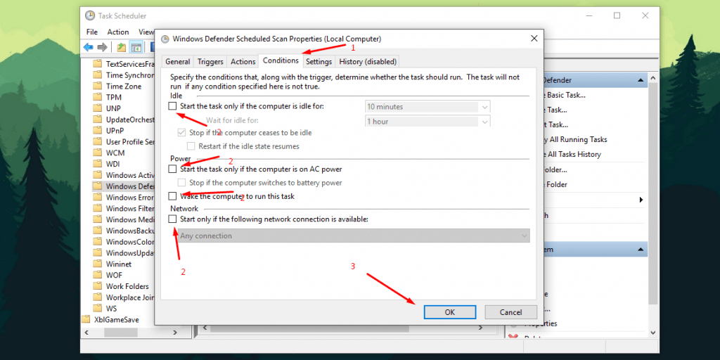antimalware service executable disable